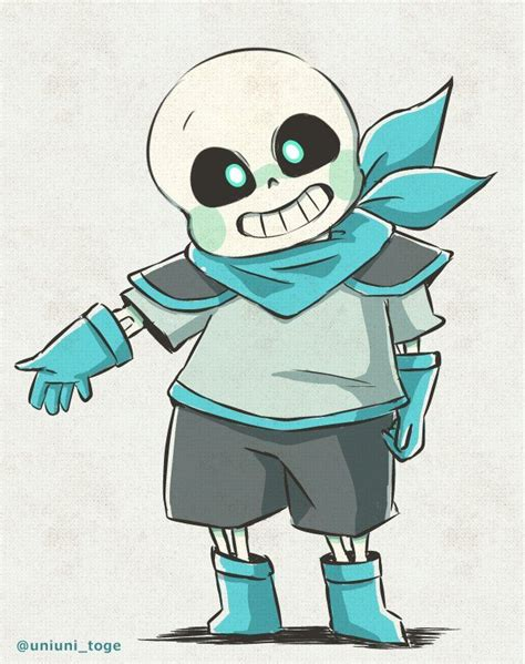 blueberry sans sans undertale