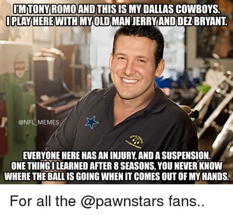 You Heard It Here The Tony Romo And Story Continues by 25 Best Memes About Dallas Cowboys Dallas Cowboys