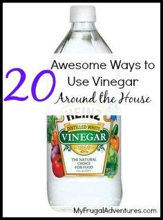 Unique Ways To Use Vinegar Around Your House by Diy Household Cleaners On 182 Pins