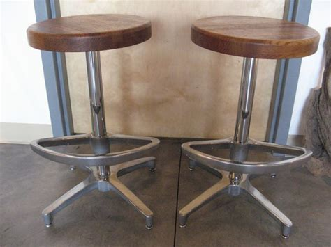 wood and chrome bar stools metro modern wood and chrome bar stools