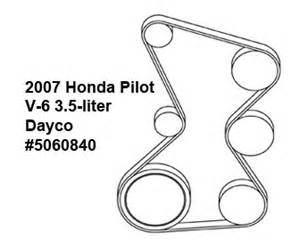 2007 Honda Pilot Timing Belt Replacement Cost Honda Pilot V 6 3 5 Liter Serpentine Belt Diagram Ricks