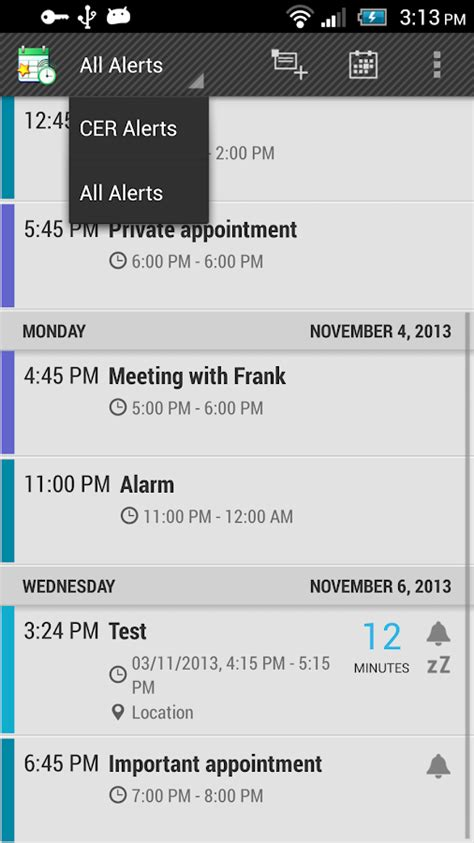 add reminder in android calendar event reminder cer android apps on play