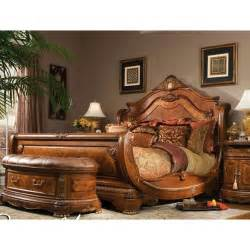 California King Size Sleigh Bed Frame Sleigh Bed Frame Wood Honey Headboard Footboard Bedroom