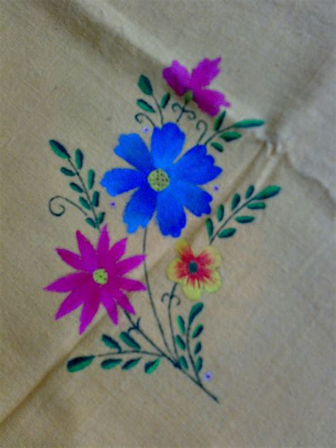 design flower paintings simple flower designs for fabric painting flower fabric