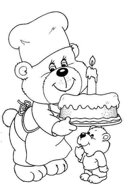 1st birthday coloring pages az coloring pages