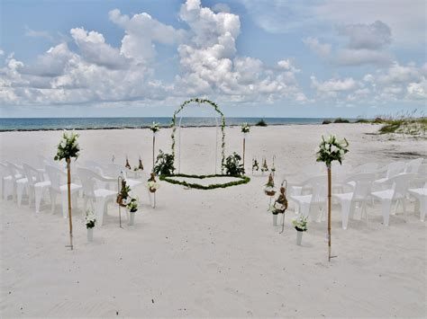 Inexpensive Beach Wedding In Florida   affordable beach