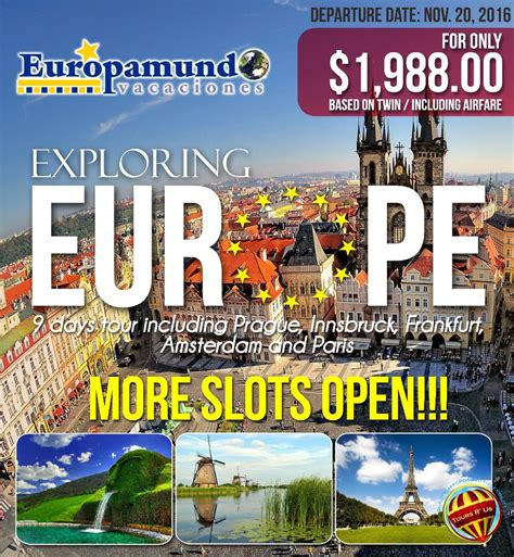 europe tours  affordable cheap  holiday