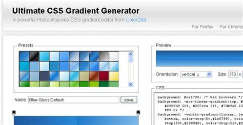 css tutorial gradient background mudah membuat efek css3 dengan css3 generator margonulis