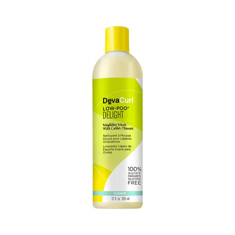 diva curl low poo delight weightless waves mild lather cleanser