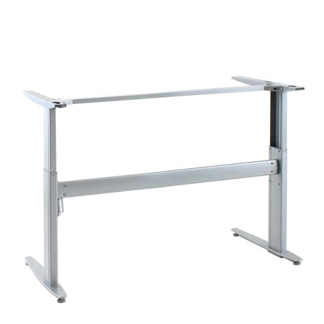 conset 501 25 electric standing desk base shop standing