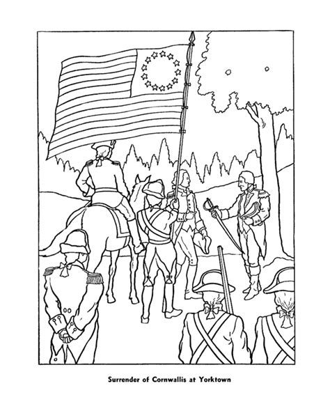 revolutionary war newspaper template revolutionary war coloring pages coloring home