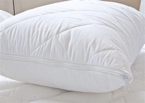 Pp Pillow Protector Pelindung Bantal cotton pillow protector pair cotton bedding direct uk