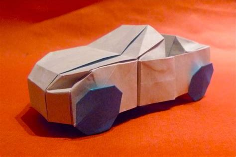 3d Origami Car - jason s ku s homepage