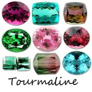 what color is tourmaline tourmaline colors gems mixed 2