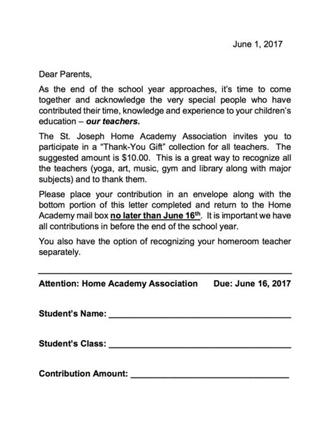 appreciation letter to the class appreciation letter to class from parents 28 images