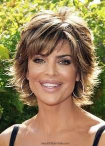 short haircuts for middle aged women