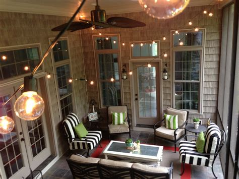 Back Porch Lights by String Lights Diy Decorating Ideas