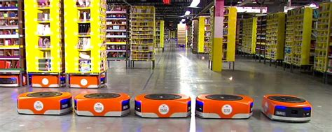 amazons warehouse robots  paying dividends