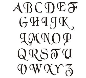 how to write in cool fonts on paper 4 ways to write in calligraphy wikihow