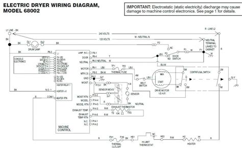wiring diagram for kenmore dryer model 110 free