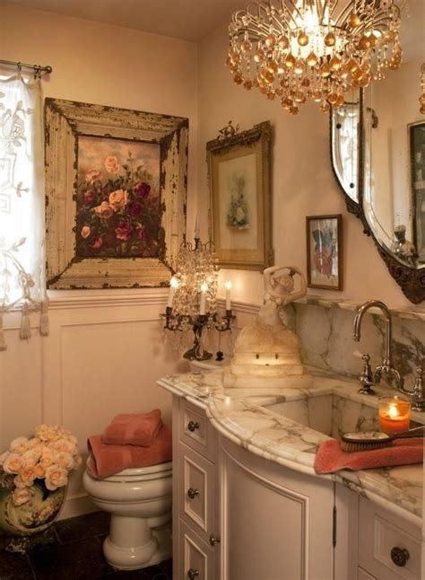 french decor bathroom best 25 shabby chic chandelier ideas on pinterest