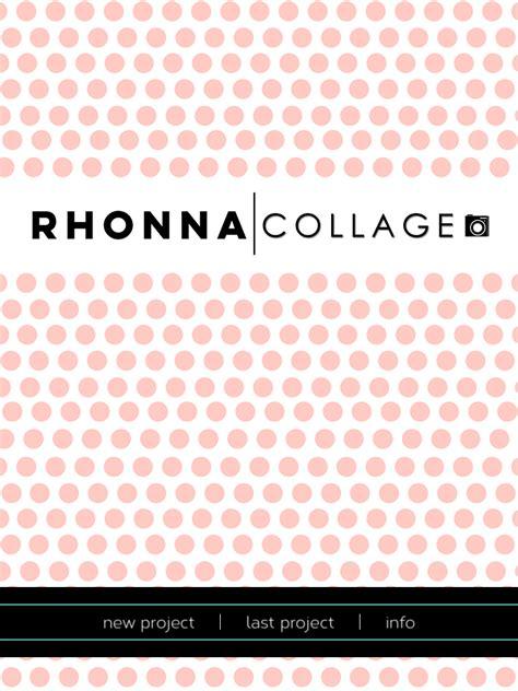 tutorial rhonna design dlolleys help rhonna collage tutorial how to add rhonna