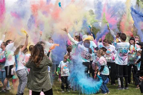 color run colorado school holds color run local news stories