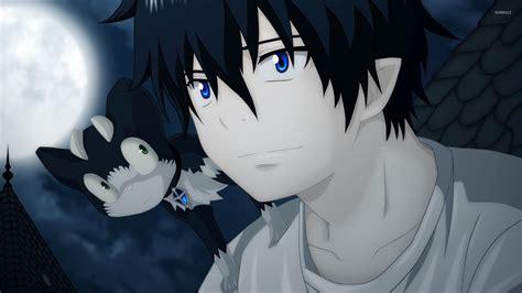 anime exorcist rin okumura ao no exorcist 2 wallpaper anime