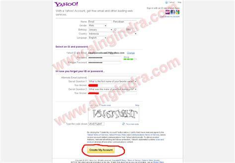 untuk membuat email yahoo trik membuat email yahoo tips trick information games