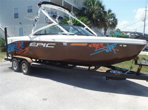 epic wake boats price 2012 used epic 21v ski and wakeboard boat for sale