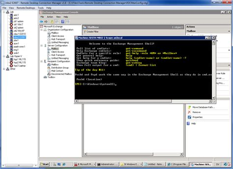 mstsc console command how sysadmins rdp efficiently using remote desktop
