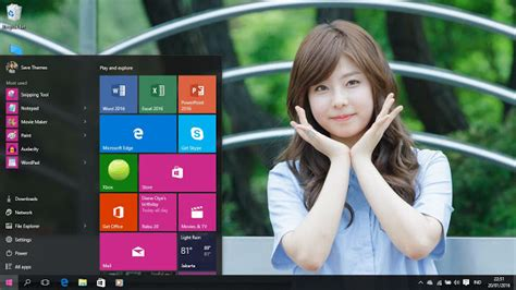 themes kpop windows 7 korean girls theme for windows 7 8 8 1 and 10 save themes
