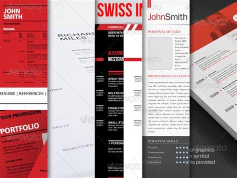 best resume sle for web designer 10 best swiss style resume cv templates best designers