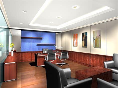 layout ruang direktur ikon utama interior architec exhibition project