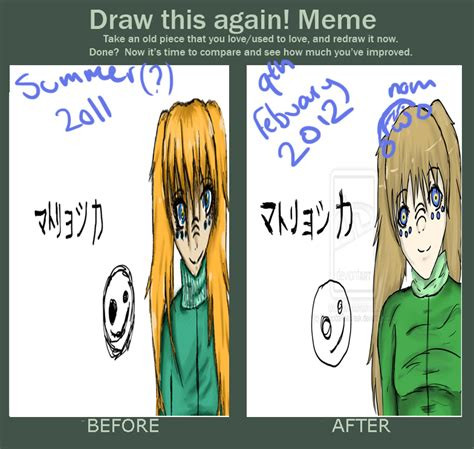 Draw This Again Meme Fail - draw this again meme reietta d by homicidalteabreak on