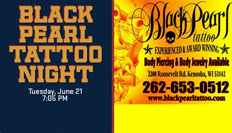 tattoo shops kenosha black pearl on june 21st kenosha kingfish