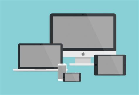 apple device realistic apple devices vector vector free download