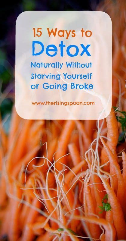How To Detox Yourself by Fifteen Ways To Detox Naturally Without Starving Yourself