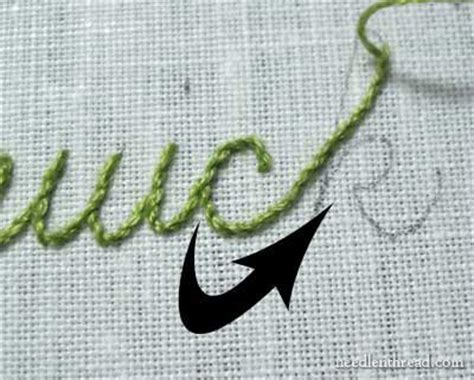 len namen embroidery lettering and text 4 stem stitch