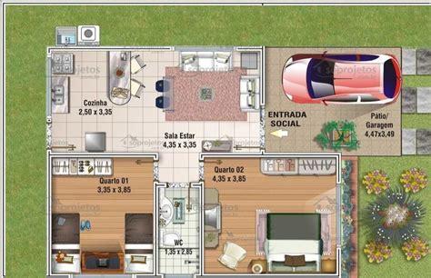 projeto casa projeto de casa popular 80 m2 c 243 d 66 s 243 projetos