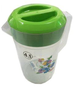 Green Leaf Teko Water Jug 4 L lionstar teko air plastik transparant water jug 4 1l