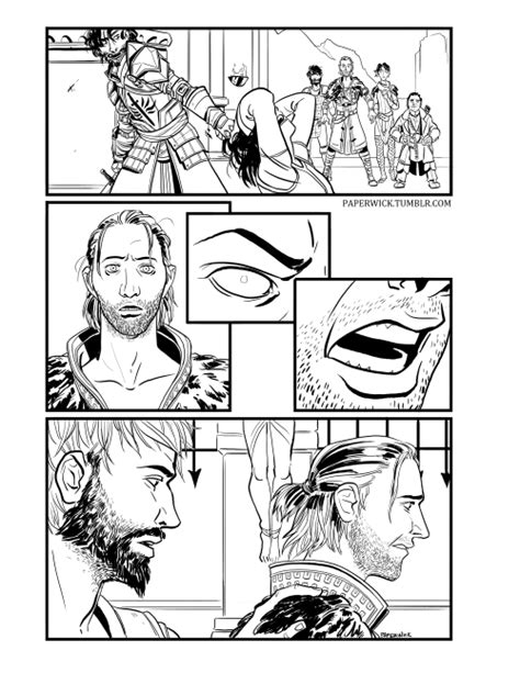 dragon age coloring page gallows tumblr