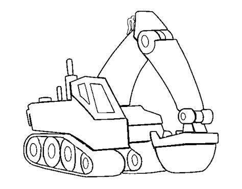 coloring pages of excavators free coloring pages of an excavator