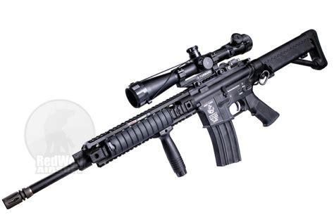 Jual Airsoft Gun Navy Seal G P Metal Navy Seal Custom Airsoft Aeg Rifle W M1 Sniper Scope