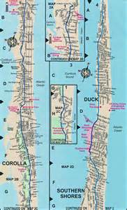 duck map duck nc map outer banks maps