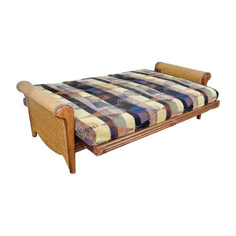 rattan futon 89 off dcg dcg rosebud rattan futon frame sofas