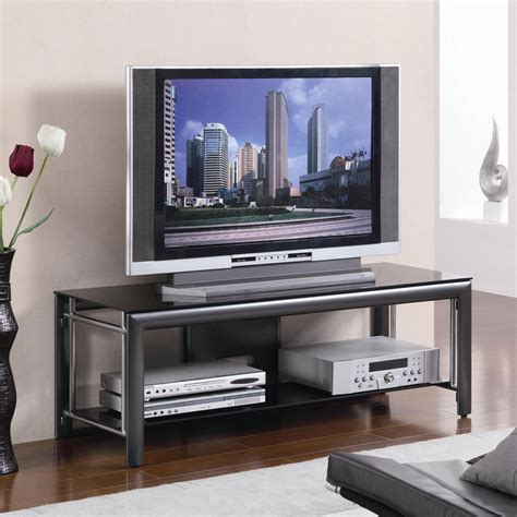 Media Room Chaise Lounges - coaster tv stands 55 quot tv console tv stands