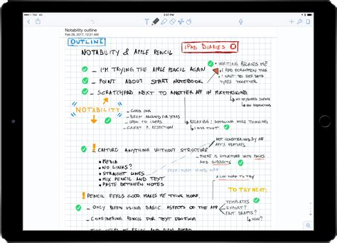 apple notes ipad diaries apple pencil notability and the joy of