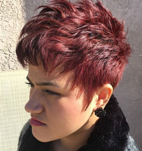 pixie shaggy hairstyles for 50 50 edgy shaggy messy spiky choppy pixie cuts choppy