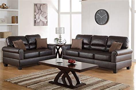 poundex bobkona sectional sofa and ottoman set poundex f7878 bobkona shelton bonded leather 2 piece sofa